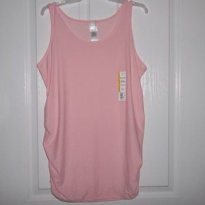 NEW TIME AND TRU MATERNITY PALE PINK TANK TOP